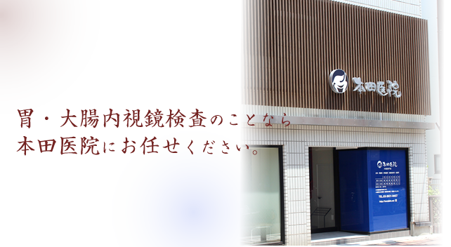 内視鏡検査(胃カメラ、大腸カメラ)は、東京都江東区住吉にあります本田医院にお任せ下さい。